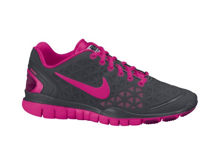 nike free 2 ext black\/pink trainers club