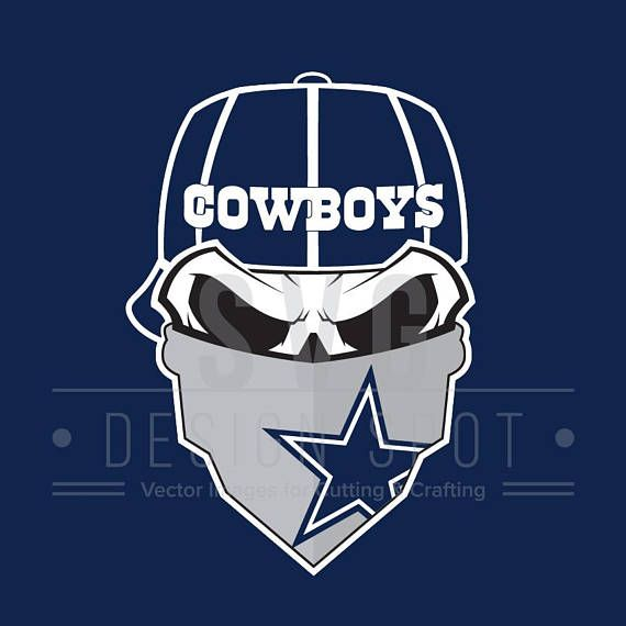 Dallas Cowboys Skull SVG File Dallas Cowboys Skull SVG Wall ... 6f4ae0e7a