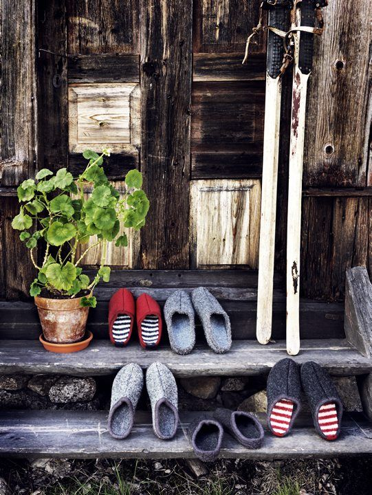 Norrgavel, Swedish furniture and accessories, did a photoshoot in Jämtland.