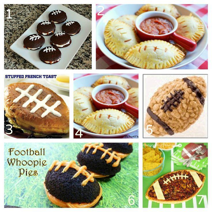 football shaped food 2