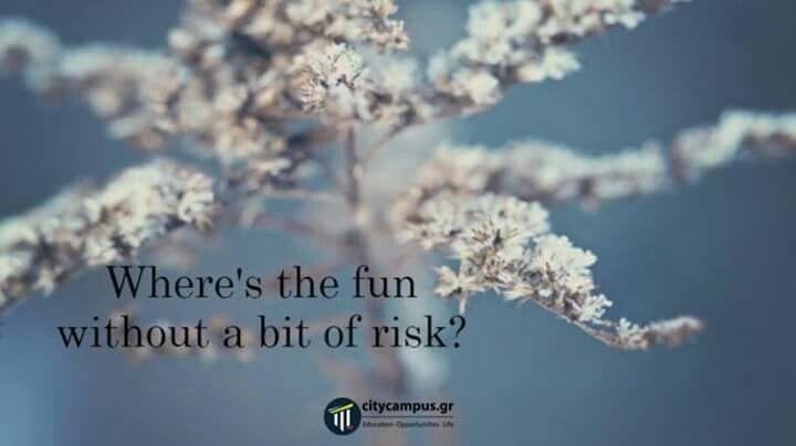 #takearisk#berisky#risks#citycampus#citycampusgr