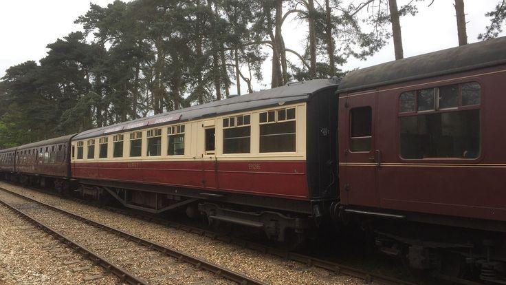 Gresley buffet coach E9128E showing The Broadsman carriage boards