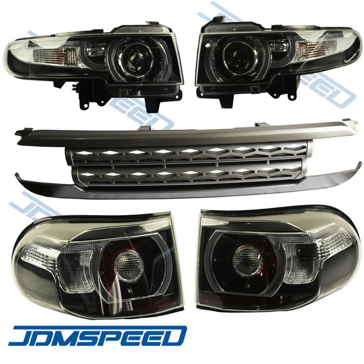 For 2007-2015 Toyota FJ Cruiser LED Halo Headlight (with Grille and tail light)   eBay Motors, Parts & Accessories, Car & Truck Parts   eBay!