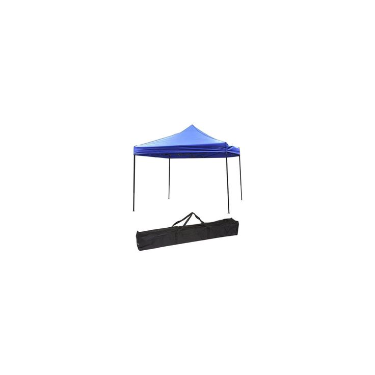 Trademark Innovation Lightweight and Portable Canopy Tent Set 10' X 10' - Blue http://camperlovers.org/beginners-camping-guide/