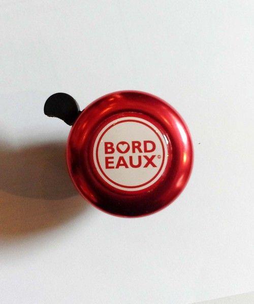 Sonnette pour vélo - BORDEAUX Ville de Coeur©. Sonnette pour bicyclette en métal, un petit bijou bordelais pour votre vélo. Utile et jolie.