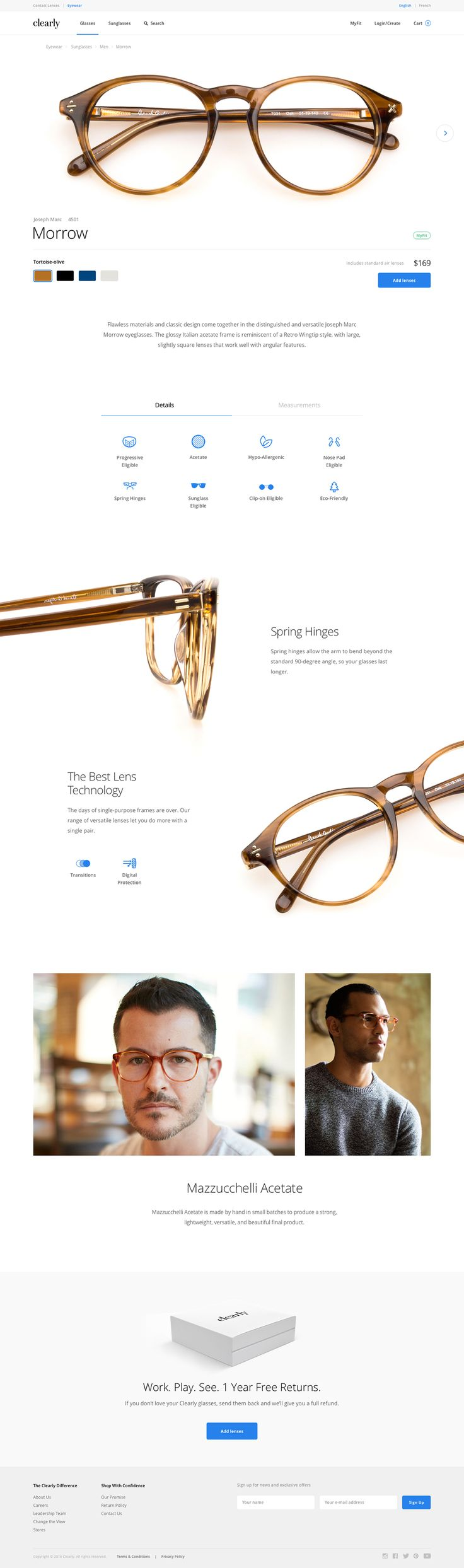 Clearly on Behance