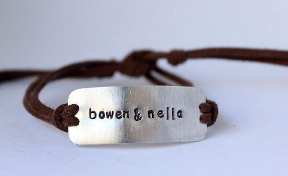 CUSTOM men's bracelet, father's day gift, gift for daddy, cool men's bracelet by bstamped.etsy.com