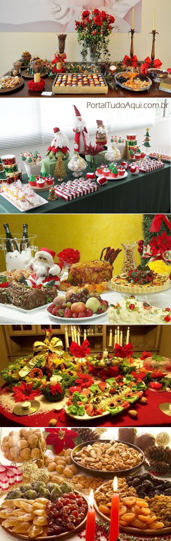 mesa-de-natal-dicas-e-fotos-de-decoração-de-arranjos-de-mesa-de-apoio-de-doces