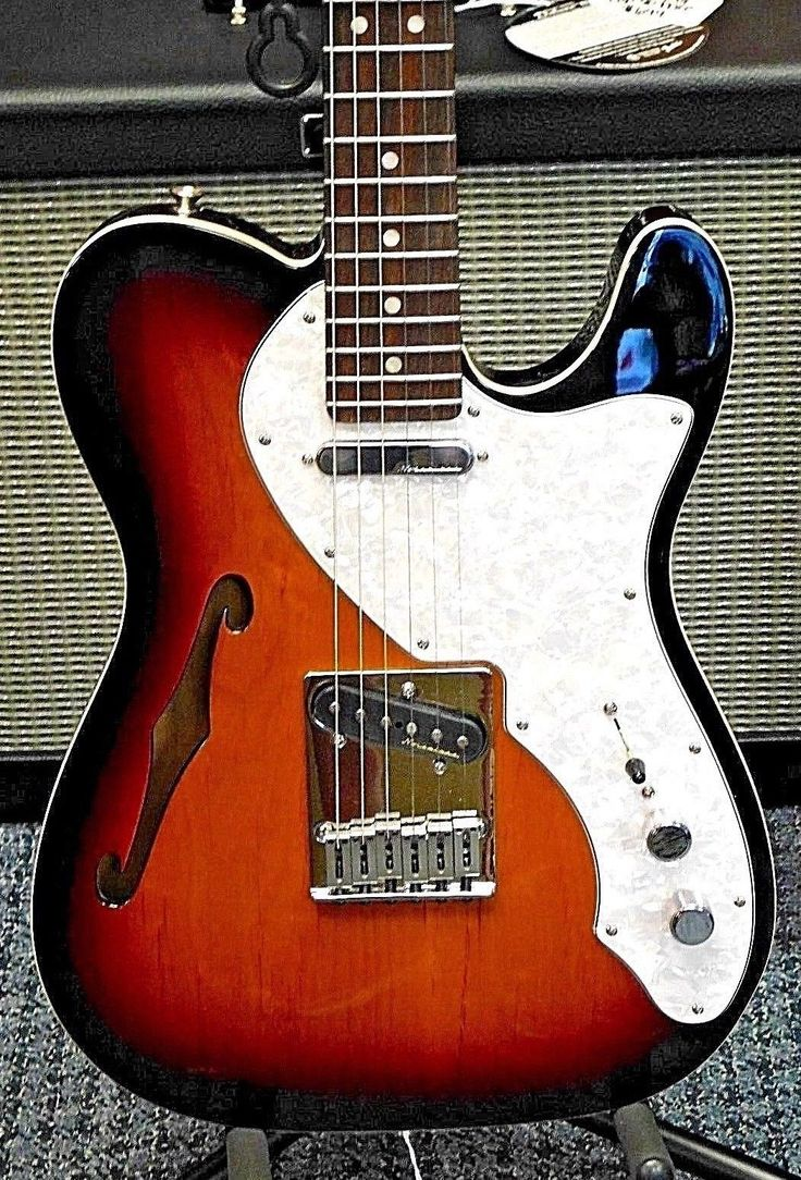 2017 Fender Deluxe Telecaster Thinline Tele Rosewood Fretboard MINTY! NO RESERVE