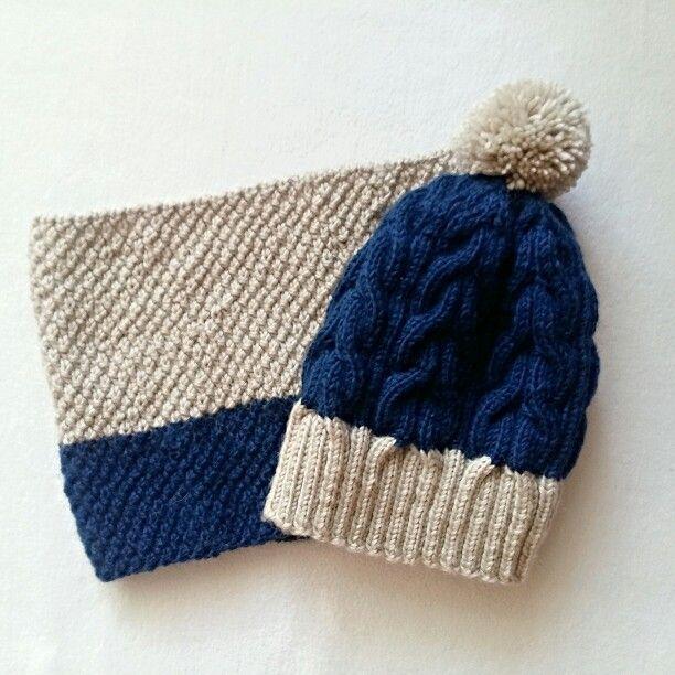 #knitting #handmade #scarf #hat #babyhat #knitforbaby