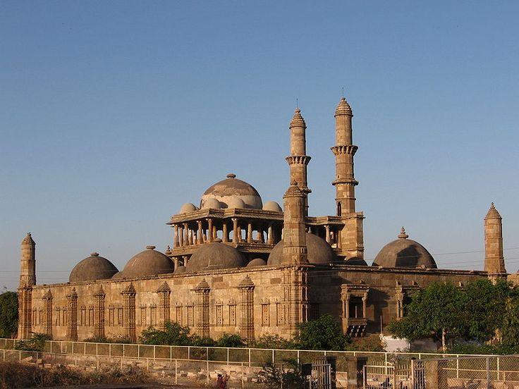 Jama masjid in Champaner - Anexo:Patrimonio de la Humanidad en Asia y Oceanía - Wikipedia, la enciclopedia libre