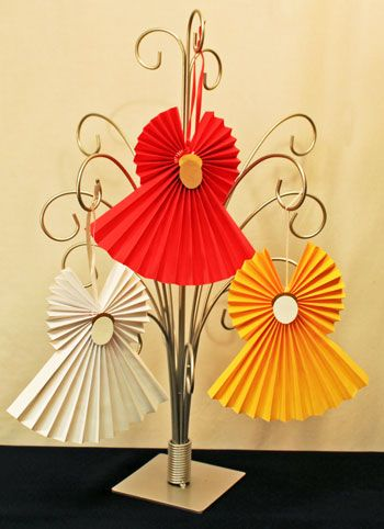 Make these pretty little angels fast, easily and inexpensively.