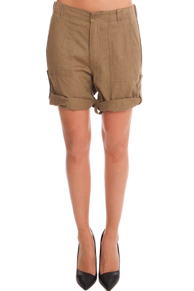 Giada Forte Military Shorts | Blue&Cream
