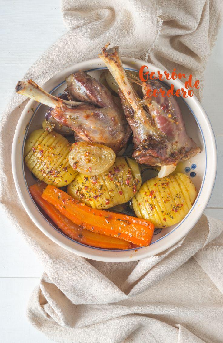 Este corte de cordero no es muy conocido, pero es delicioso y tiene un  sabor muy suave. Para que quede sabroso hay dejarlo en el horno hasta que la carne se desprenda del hueso.