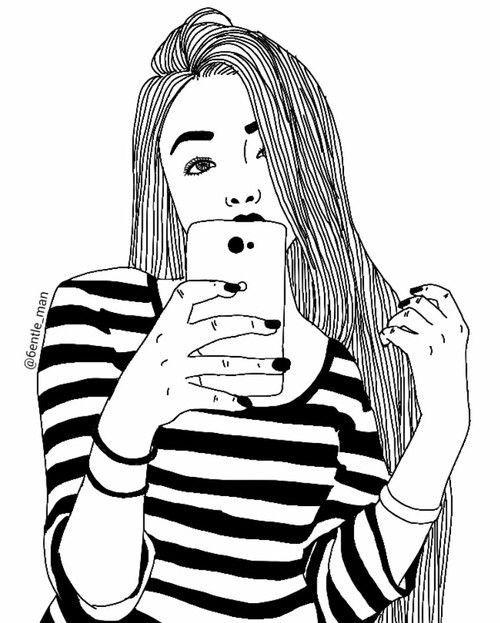 31 best tumblr drawing images on pinterest girl drawings for How to draw tumblr drawings