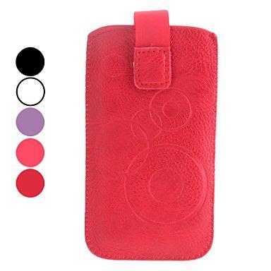 elegante Custodia protettiva in pelle PU per 5/5s iPhone e iPhone 4 (colori assortiti) – EUR € 2.09