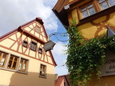 Rothenburg ob der Tauber – historisch, romantischer Touristentraum