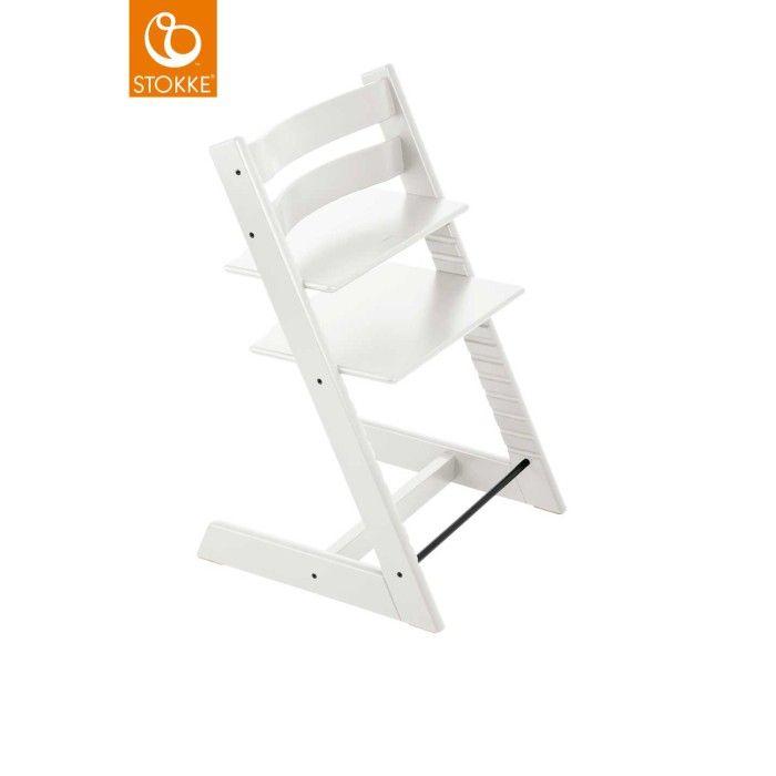 Stokke Tripp Trapp stol (Vit White)