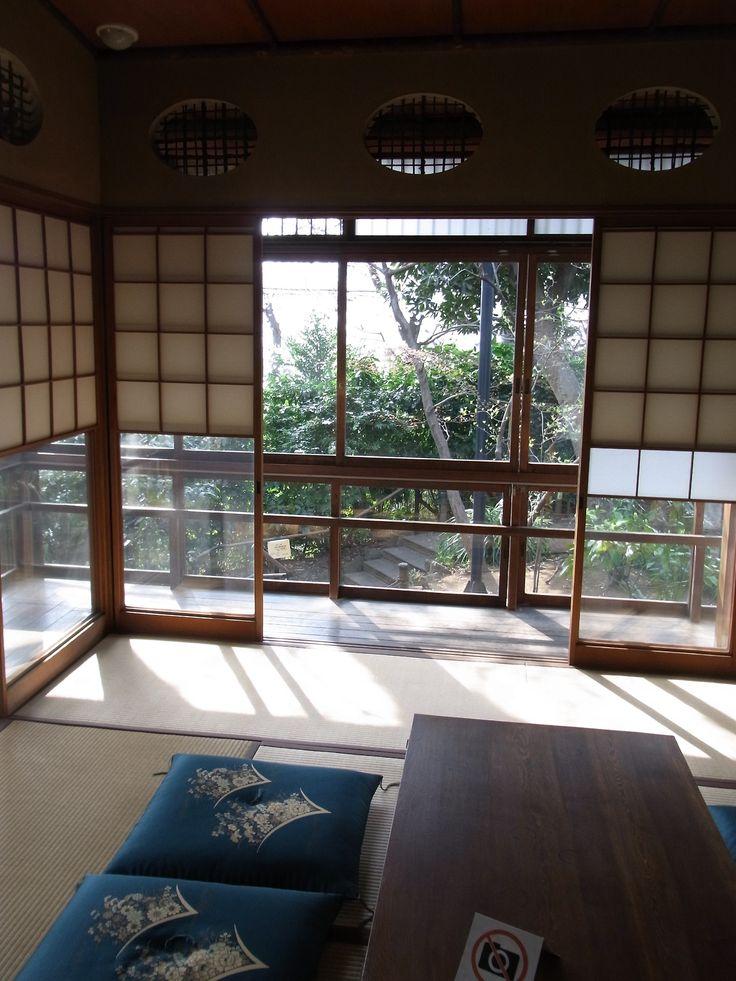 #Japan #Tokyo traditional folk house Mushanokouji Saneatsu Memorial Museum http://en.wikipedia.org/wiki/Saneatsu_Mushanok%C5%8Dji