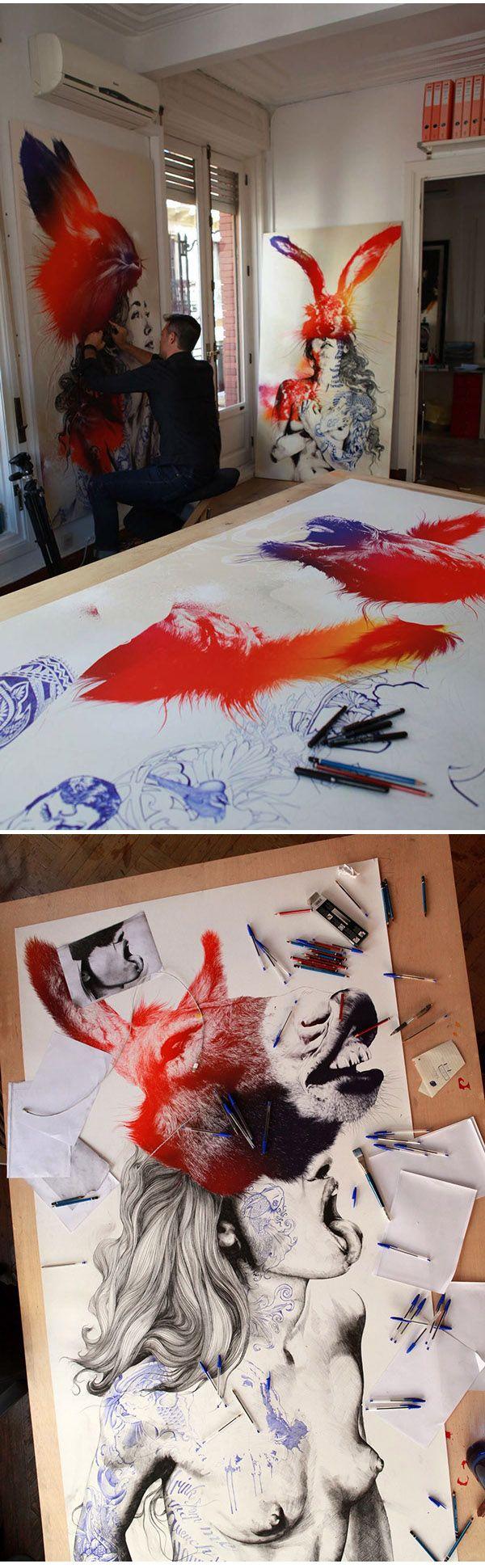 Gabriel Moreno https://www.behance.net/gallery/22264991/ANIMAL-BEAUTY