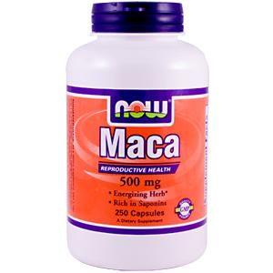 Now Foods, Maca, 500 mg, 250 Capsules - iHerb.com