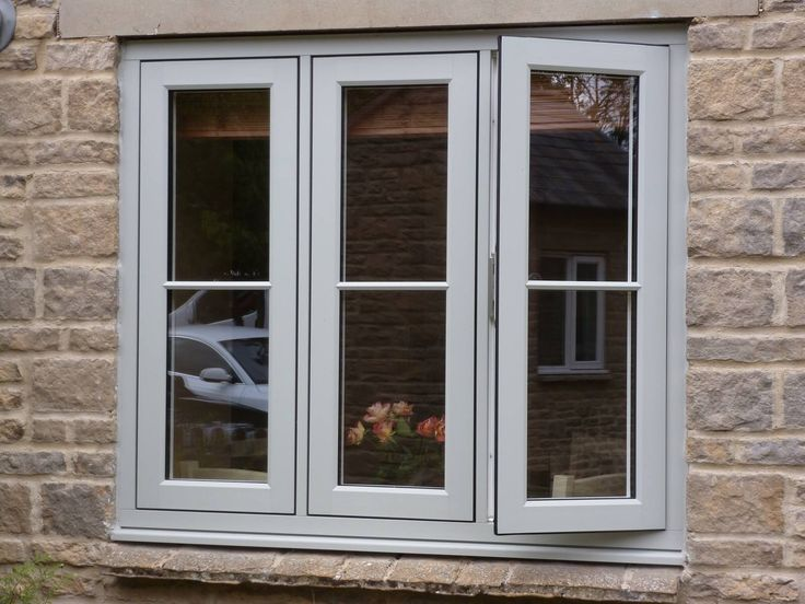 A great example of the #Residence9 Flush Sash feature in the popular colour 'Painswick' #R9journey