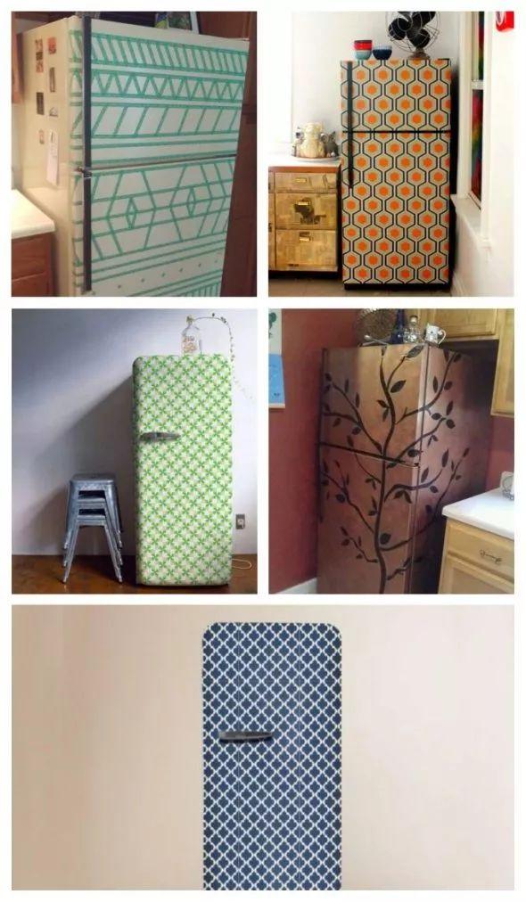 customiser le frigo 20 id es faciles r aliser diy. Black Bedroom Furniture Sets. Home Design Ideas