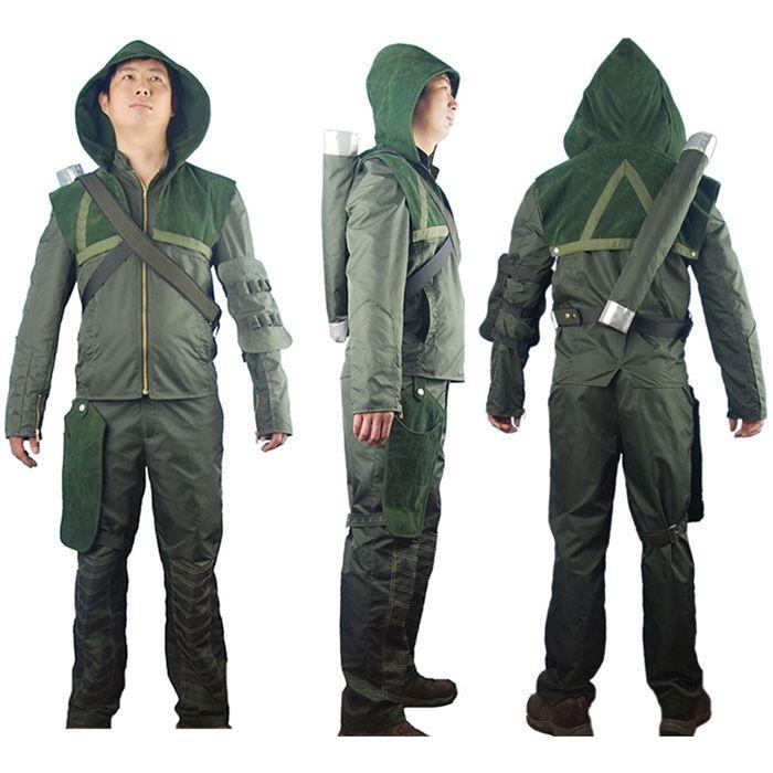 green arrow costumes green arrow cosplay costume connor hoodie jacket halloween costume for boys men kids