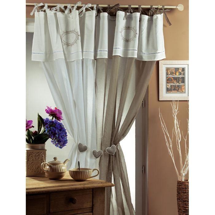 les 20 meilleures images propos de rideaux sur pinterest taupe v tements bandeaux et d co. Black Bedroom Furniture Sets. Home Design Ideas