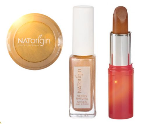 You'll be all set for the summer sun with natural and gentle NATorigin cosmetics in golds and bronzes! ☀️