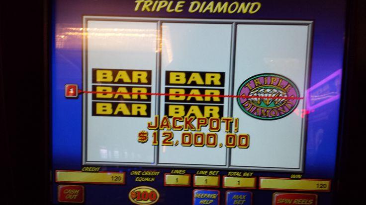 Jackpot for $12,000 won at Empire City Casino!