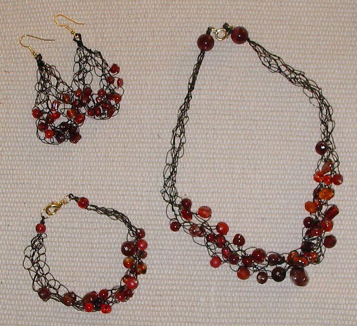 crochet jewelry patterns for beginners crochet pattern