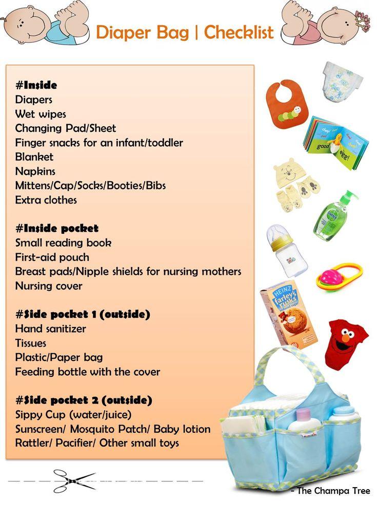 25 Best Ideas About Diaper Bag Checklist On Pinterest
