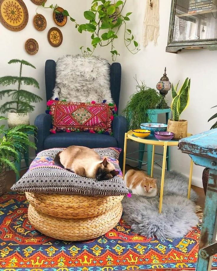 Boho Style Ideas for Interior Designs and Decor   …