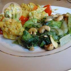 Pittige curry met bloemkool en avocado @ allrecipes.nl