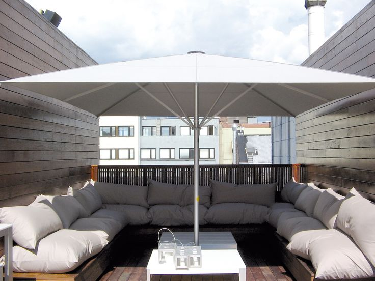 Sonnenschirm MAY Schattello - der beliebte Gastro-Sonnenschirm Der Sonnenschirm MAY Schattello ist ein robuster und doch eleganter Allwetterschirm, der seinen Gästen nicht nur bei Sonnenschein, sondern auch bei einem kleinen...
