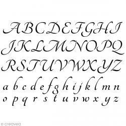 Pochoir Home Deco Alphabet - A4 (21 x 29,7 cm)