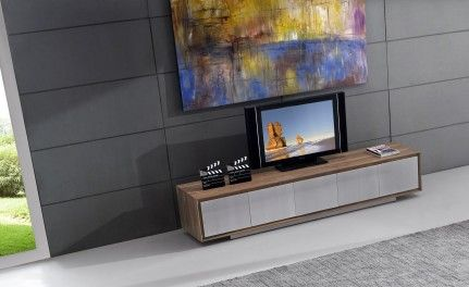 Tv828 Walnut TV Unit. Available in 4 doors or 5, this TV unit perfectly compliments our other world-class Walnut furniture.