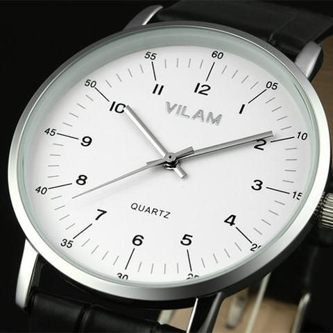 VILAM Casual Plain Wristwatch