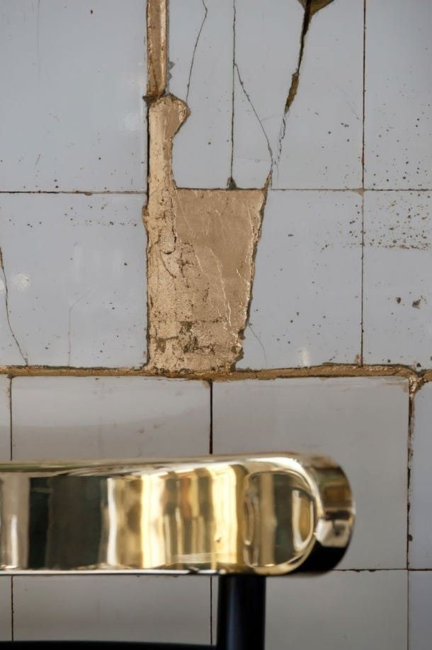 Broken is Beautiful in the Japanese tradition of kintsugi. Broken things are repaired with gold (or silver) joinery, so that the repaired object is even lovelier than the original. It leaves history in tact and brightens any mistake.