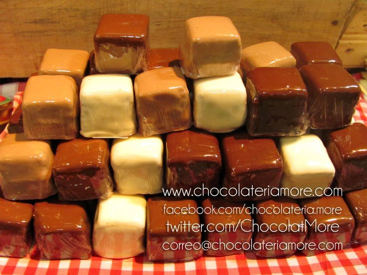 Cubitos de Brownie | chocolateriamore
