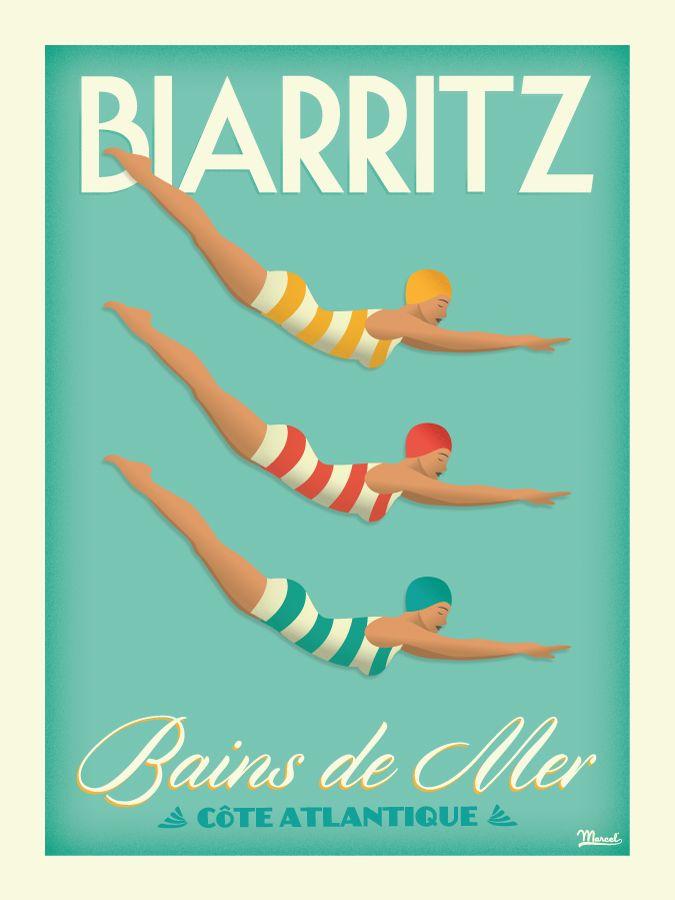 © Marcel Biarritz BAINS DE MER www.marcel-biarritz.com