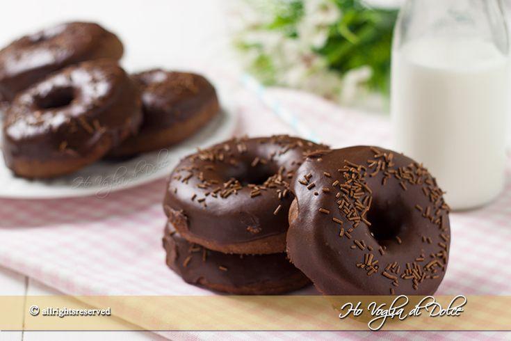 Donuts+al+cioccolato