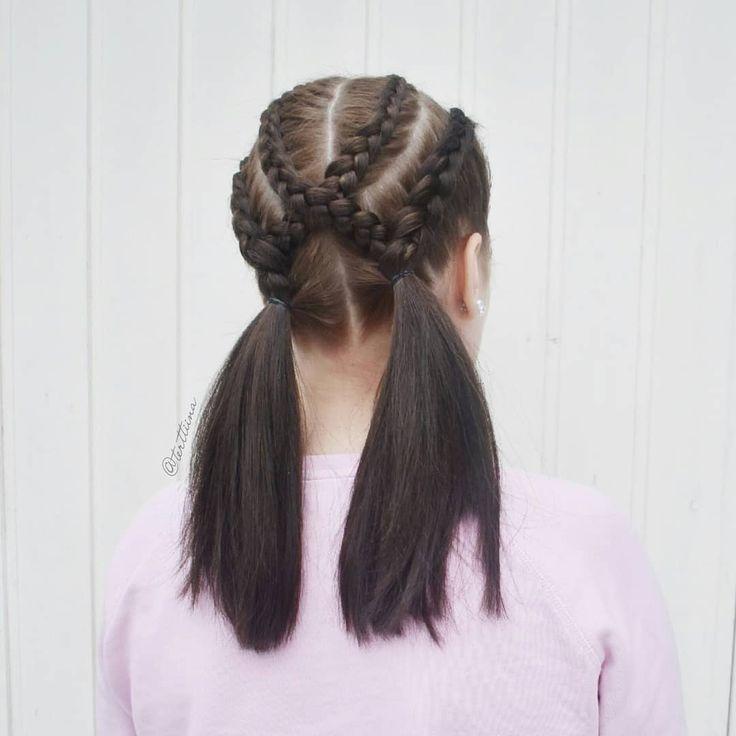 Braids & Hair by @terttiina Instagram: Dutch braids into pigtails! #dutchbraids