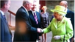 The Queen and Martin McGuinness shake hands... How times have changed?!? For the better!