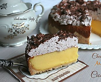 Cheesecake Arancia e Cioccolato,ricetta