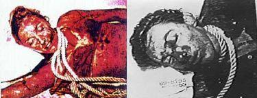 Tate crime scene photos