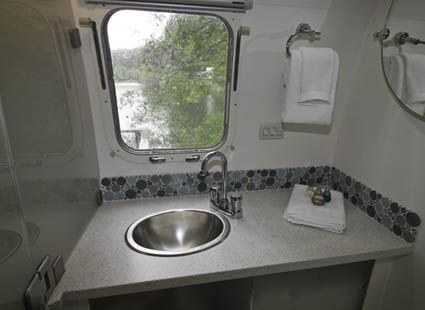motorhome bathroom cabinet 104 best images about airstream bathrooms on 13776