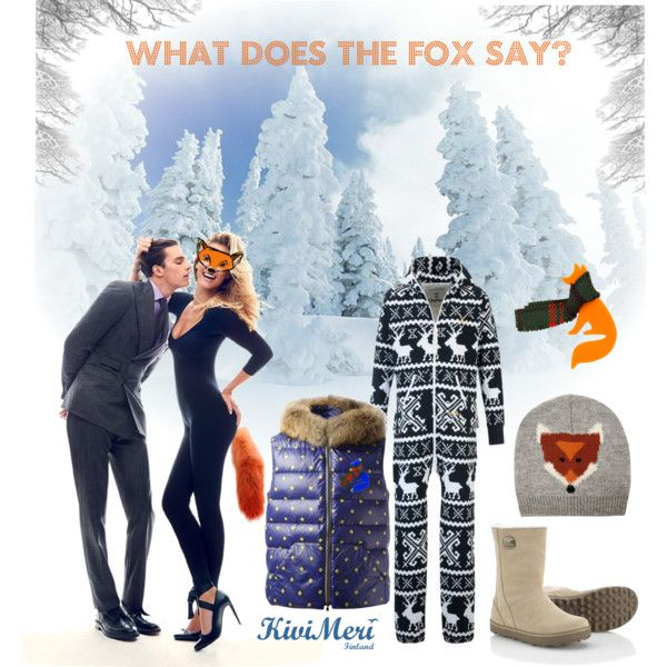 """""""What Does the Fox Say?"""" by kivimeri on Polyvore"""