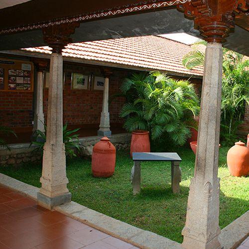 Indian Courtyard